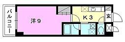 マリノ・ステーション[202 号室号室]の間取り