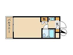 東京都荒川区東尾久8丁目の賃貸マンションの間取り