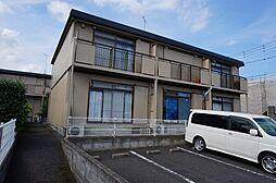 シティハイムササヤマD[202号室]の外観
