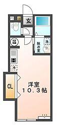 M102[2階]の間取り