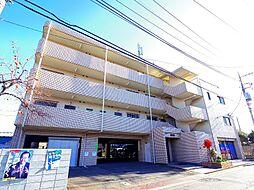 東京都東村山市諏訪町1丁目の賃貸マンションの外観