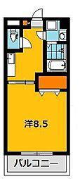 メゾンドカンパーニュ[3階]の間取り