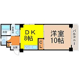 KATOHマンション[101号室]の間取り