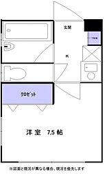 岡本南マンション[304号室号室]の間取り