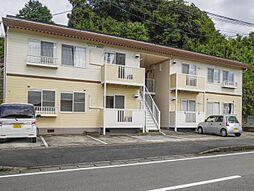 佐賀県多久市東多久町大字別府の賃貸アパートの外観