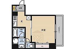 ノエル野江[3階]の間取り