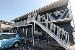広島県福山市東川口町3丁目の賃貸アパートの外観