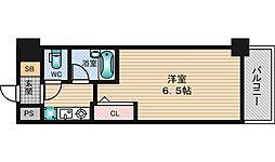 エスリード新大阪第7[6階]の間取り