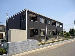 埼玉県久喜市葛梅1の賃貸アパートの外観