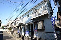 埼玉県さいたま市南区鹿手袋3丁目の賃貸アパートの外観