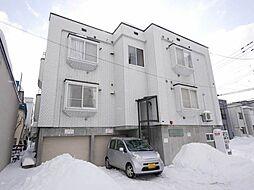 北海道札幌市南区澄川一条1丁目の賃貸アパートの外観