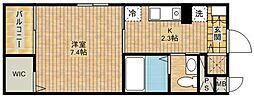 グレースコートII[3階]の間取り