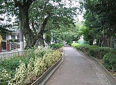 公園蛇崩川緑道まで463m