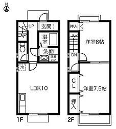 LIVERTE[2階]の間取り
