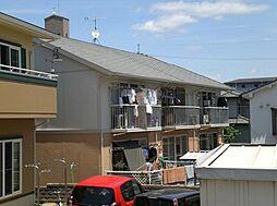 広島県広島市安佐南区東原1丁目の賃貸アパートの外観