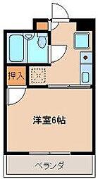 タイセイコーポラス[3階]の間取り