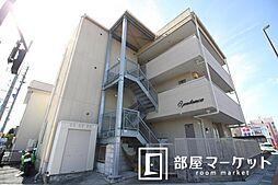 愛知県豊田市若宮町4丁目の賃貸マンションの外観