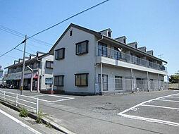 リッショウハイツ B棟[2階]の外観