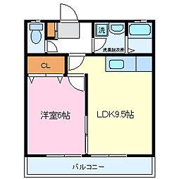 Luce[1階]の間取り