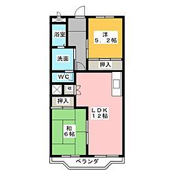アメニティハウス[1階]の間取り