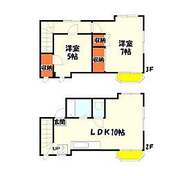 柳澤ビル[2階]の間取り