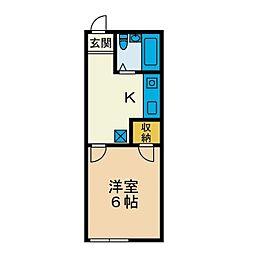 マルキハウス11[1階]の間取り