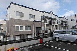 北海道札幌市東区北三十一条東1丁目の賃貸アパートの外観