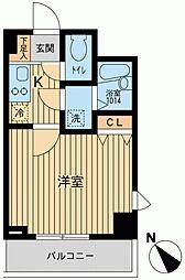 アーデン駒沢大学[0402号室]の間取り