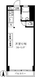 シルバーマンション[302号室]の間取り