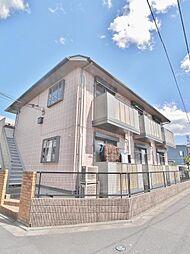 埼玉県富士見市鶴馬の賃貸アパートの外観