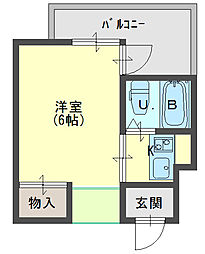 JPアパートメント守口V[203号室]の間取り