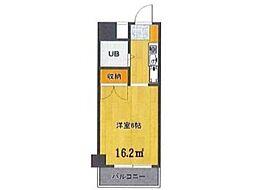 Uトピア高幡不動[2階]の間取り