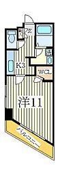 ルネスフィエスタ[6階]の間取り
