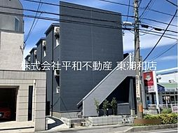 JR武蔵野線 東浦和駅 徒歩6分の賃貸アパート