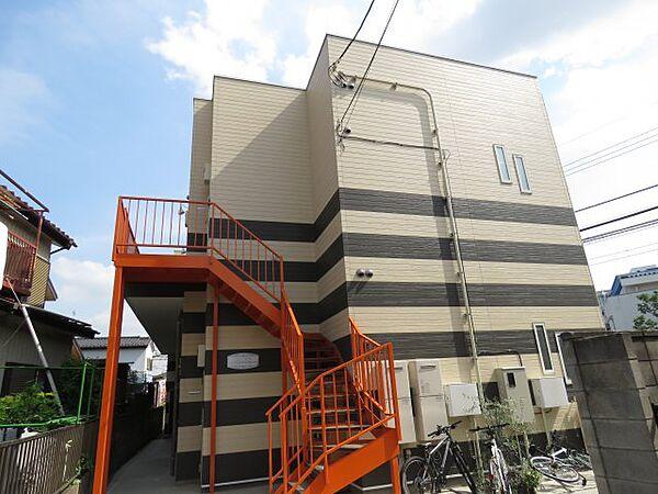 リブコート霞ヶ関[2階]の外観