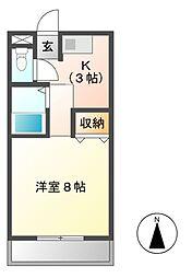 マーブルII[2階]の間取り