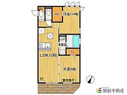 (仮)D-room新生町[305号室]の間取り