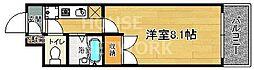 奈良甚ビル[402号室号室]の間取り