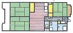 サンコーポラス[3階]の間取り