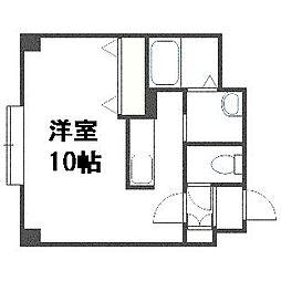 K・s Stage Asahimachi[306号室]の間取り