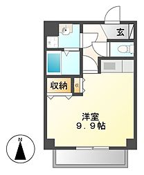 SOCIA内山(ソシア)[2階]の間取り