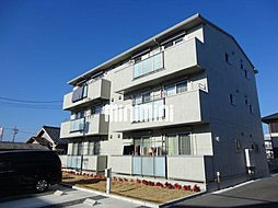 愛知県豊橋市中浜町の賃貸アパートの外観