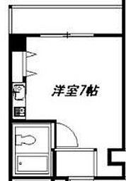 エスタイル塚本[402号室]の間取り