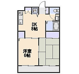 煉瓦館90[2階]の間取り