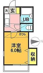 TOPHILL代田[101号室]の間取り