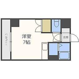 ドエル札幌北11条[4階]の間取り