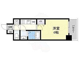 名古屋市営桜通線 丸の内駅 徒歩4分の賃貸マンション 9階1Kの間取り