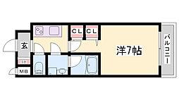スプランディット神戸北野[2階]の間取り