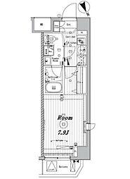 メイクスデザイン東向島[4階]の間取り