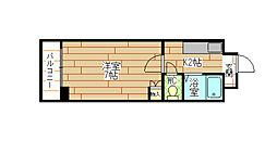 福岡県北九州市八幡西区大字藤田の賃貸マンションの間取り
